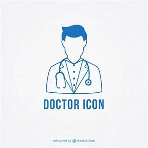 The doctor icon Vector | Free Download