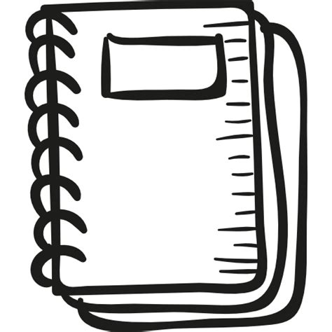 draw school notebook  education icons