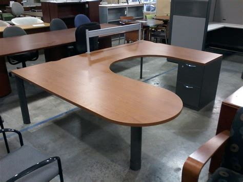 steelcase u shaped desk steelcase u shape desk 750 used office furniture dfw