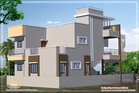 contemporary india house plan  sqft kerala home