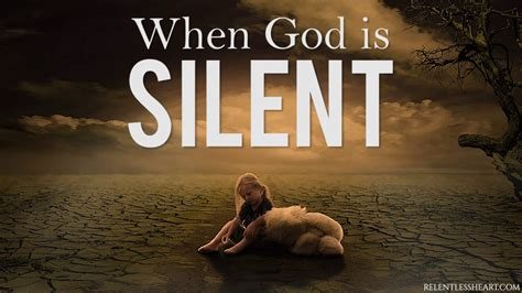 WHEN GOD IS SILENT!!! - YouTube