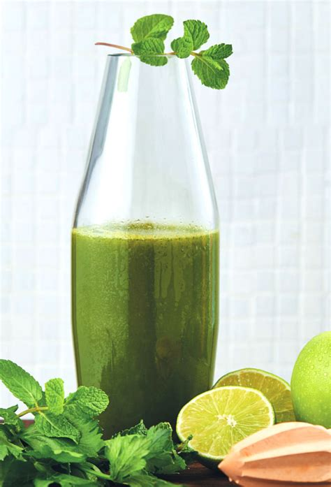 juice apple spinach celery kale ginger lime smoothie za recipes