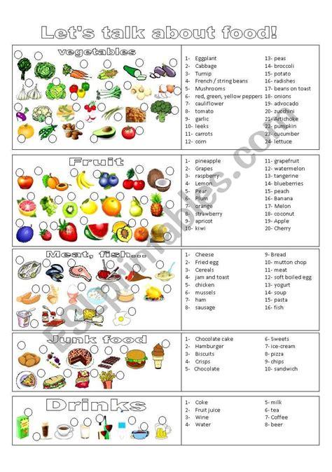 food and drinks esl worksheet by reb77