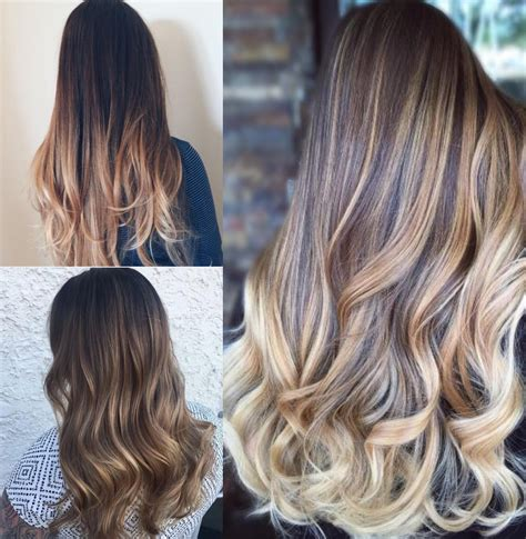 what is balayage color the differences between color melting balayage and ombre