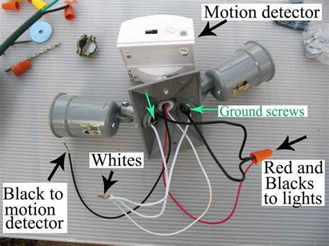 motion light wiring diagram motion sensor solar outdoor