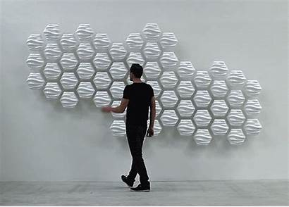 Wall Hexi Responsive Motion Interactive Based Wobbles