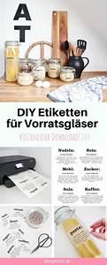 Aufkleber Für Gläser : diy etiketten f r vorratsgl ser zum ausdrucken diy ~ A.2002-acura-tl-radio.info Haus und Dekorationen