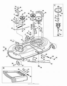 Mtd 13al78ss099  247 289040   2010   Lt2000 13al78ss099  2010  Parts Diagram For Mower Deck 42