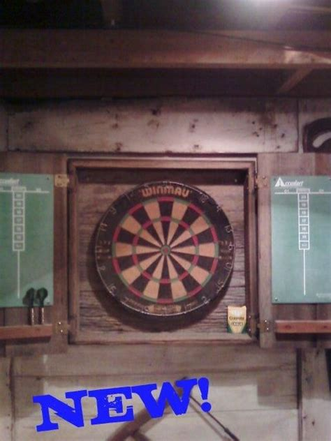 barn wood dartboard cabinet 17 best images about darts on pinterest woodworking