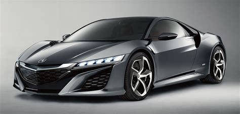 Acura Nsx 0-60 Times