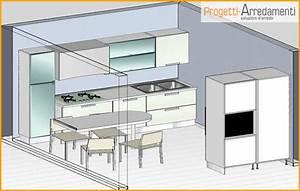 Cucina su due pareti opposte una casa con nuova for Cucina su due pareti