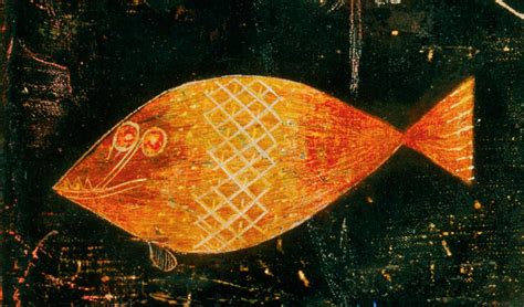 design  fine history   paul klee fish magic