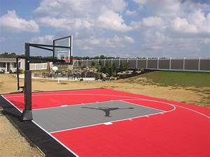 Basketball Tennis Multi Use Courts L Deshayes Dream