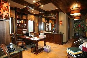 Classic Sophisticated Home Office Robeson Design San