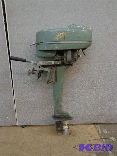 Boat Motors At Sears elgin outboard boat motor sears and auctions
