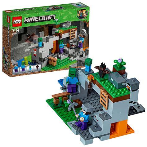 lego minecraft zombie cave building steve mini build figures baby toy play adventures bricksbuyer