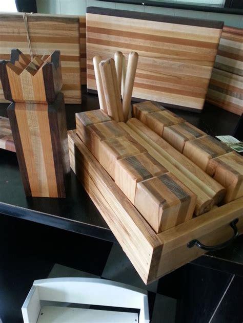 kubb set handmade  hardwoods handmade etsy