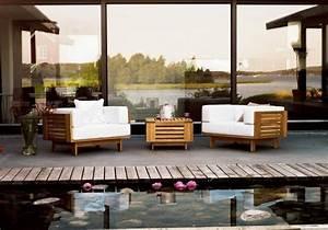 Meuble Pour Terrasse : meubles en bois pour le jardin et la terrasse 25 id es ~ Premium-room.com Idées de Décoration