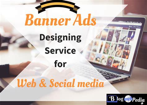 banner ad design for web social media blogwebpedia