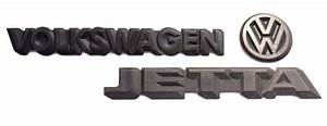 Trunk Emblem Rear Badge Logo 85-92 Vw Jetta Mk2