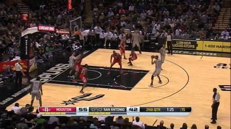 Tony Parker 27 points 8 assists vs Houston Rockets full ...
