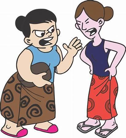 Clipart Conflict Quarrel Cartoon Transparent Loud Hailer