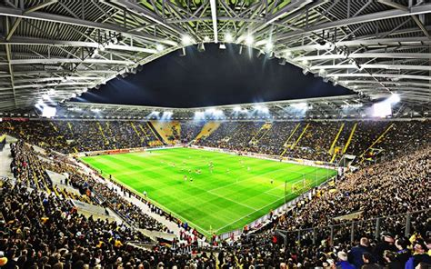Sg dynamo dresden would become one of the main rivals of bfc dynamo, and the 1970s would largely belong to sg dynamo dresden, followed by 1. Download wallpapers DDV-Stadion, Rudolf-Harbig-Stadion ...