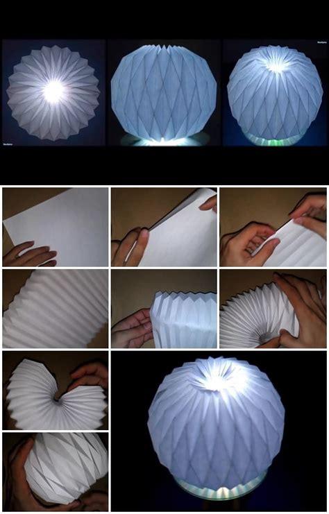 origami paper diy folding ball instructions accordion decoration step lantern craft decor lanterns lamp easy lampshade tutorial usefuldiy amazing useful