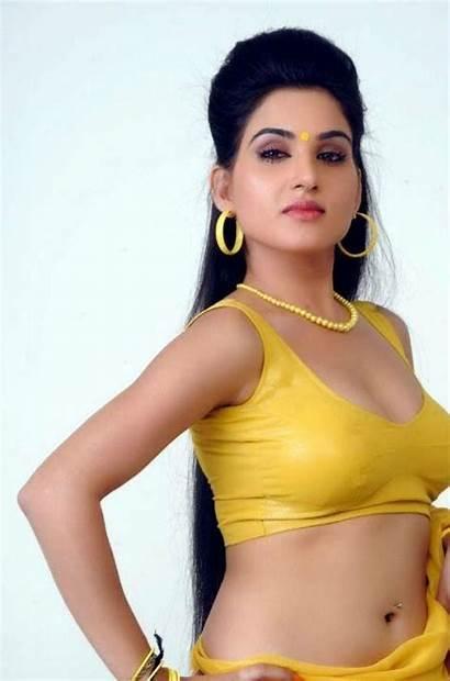 Kavya Singh Sorry Teacher Navel Saree Actress