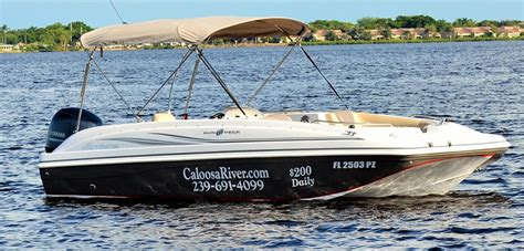 Boat Rentals Fort Myers Area by Caloosa River Boat Rental Cape Coral Florida