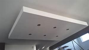 Bricolage : De l'idée à la réalisation : Un Caisson / Décaissement au plafond (faux plafond) en
