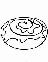 Coloring Cinnamon Roll Pages Printable Getcolorings sketch template
