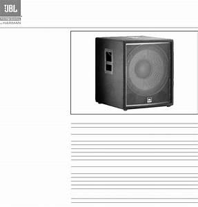 Jbl Car Speaker Jrx218s User Guide