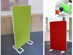 Cloisons Mobiles : cloison mobile acoustique kendra wall hangar ~ Melissatoandfro.com Idées de Décoration