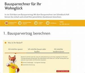 Bausparvertrag Berechnen : bausparrechner aktion pro eigenheim ~ Themetempest.com Abrechnung