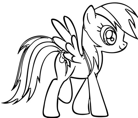 My Little Pony Coloring Pages Coloringsuitecom