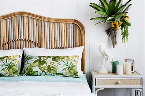 wood bed frame king brookhaven bedhead naturally rattan and wicker