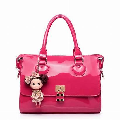 Handbag Barbie Leather Bags Handbags Patent Bag