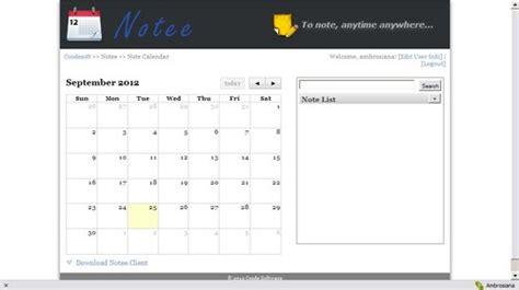 notee aplikasi alternatif  mencatat kegiatan harian