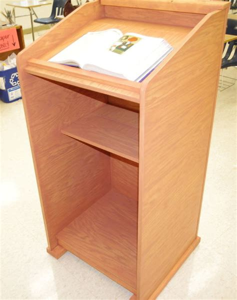 plans  building  lectern  woodworking
