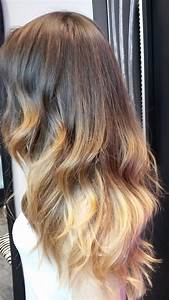 Ombré Hair Blond Foncé : ombr hair salon de coiffure paris coloration ombr hair ~ Nature-et-papiers.com Idées de Décoration