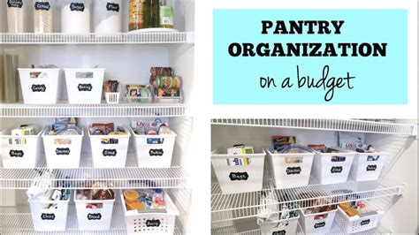 kitchen organization ideas budget how to organize your pantry on a budget easy cheap 5436