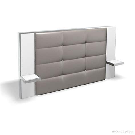 tete de lit bureau tête de lit avec chevet pour un lit size 160 cm
