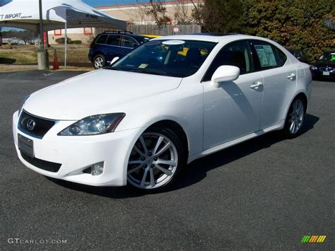 lexus white 2006 crystal white lexus is 350 3515064 gtcarlot com