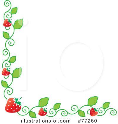 Strawberry Border Clip Art