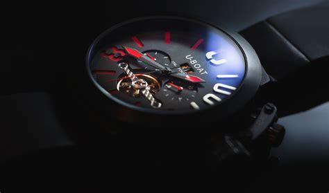 Change Time On U Boat Watch by Black Strap U Boat Chronograph Watch 183 Free Stock Photo