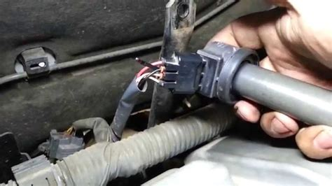 broken ignition coil wiring connector youtube