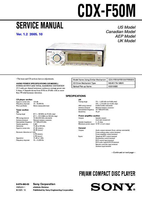 sony cdx m610 wiring diagram sony cdx m610 wiring harness diagram sony cdx m610