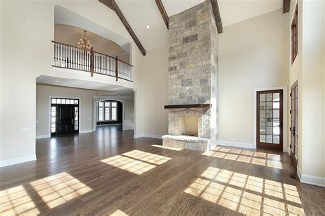 Lighting For Cathedral Ceilings by 42 Living Rooms With Exposed Ceiling Beams Love Home Designs