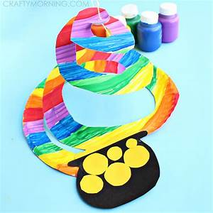 End of the Rainbow Paper Plate Twirler (Kids Craft ...